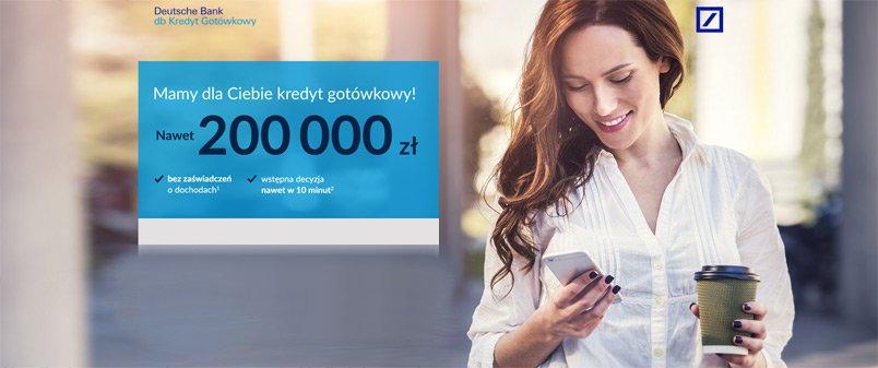 kredyt gotówkowy deutsche bank