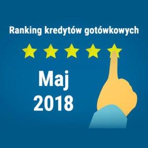 Ranking kredytów gotówkowych maj 2018