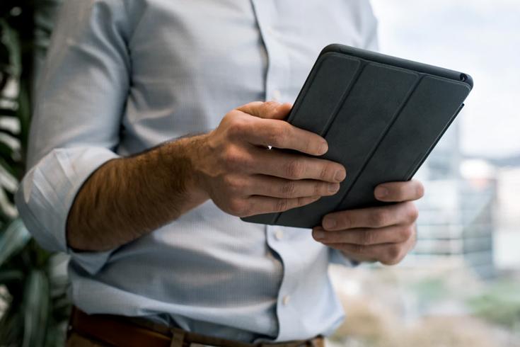 Podpis na ekranie tabletu PKO BP