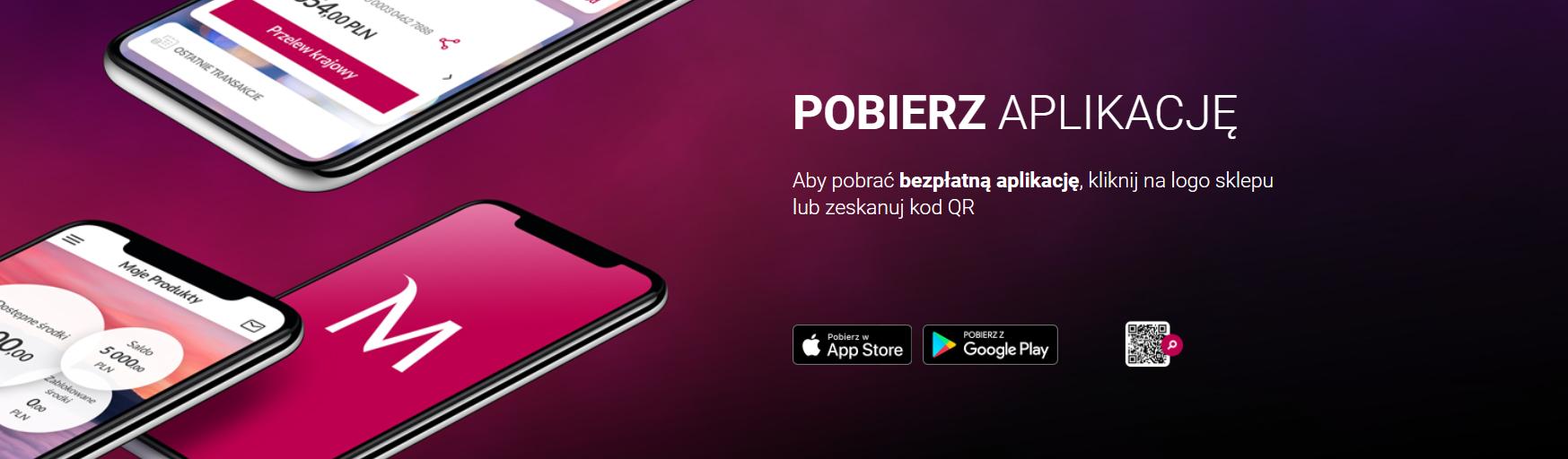 Pobierz aplikację mobilną Banku Millennium