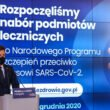 Szef Kancelarii Prezesa Rady Ministrów Michał Dworczyk wyjaśnia działanie systemu szczepień / fot. Adam Guz / KPRM